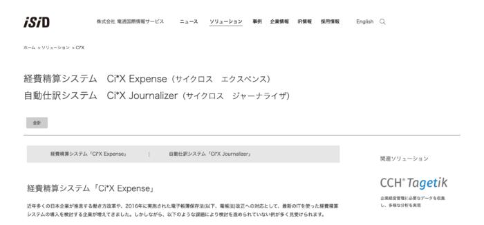 Ci*X Expense